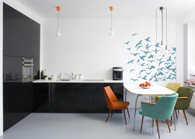 Jaki kolor ścian w czarno białej kuchni?  Porady eksperta -> Kuchnia Biala Jaki Kolor Ścian
