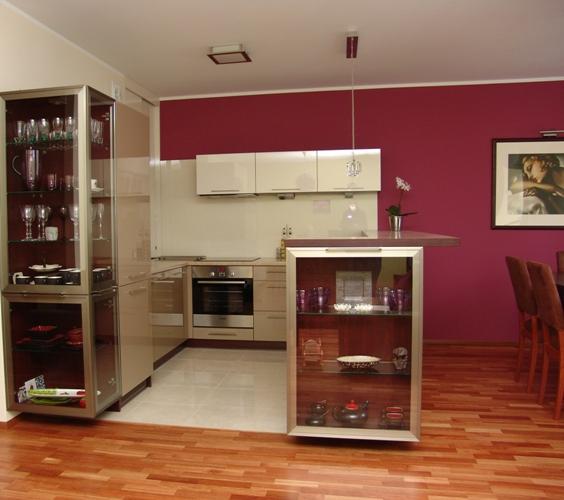 Mebla kuchenne Kuchnia i jadalnia razem -> Kuchnia Jadalnia Salon Razem